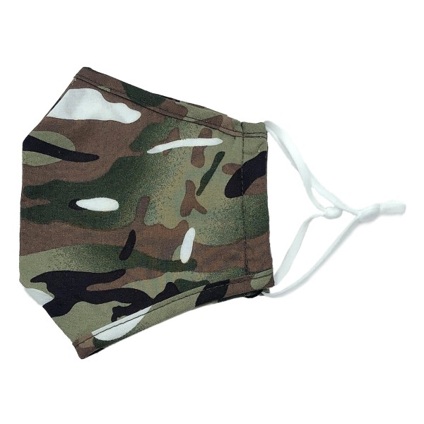 Do everything in Love Brand Lightweight Adjustable Camouflage Fashion Face Mask with Filter Pocket.  - Adjustable Ear Loops - Washable & Reusable - Non-Medical - Filter Insert - Filter Sold Separately*** - Blocks against Sunlight / Dust / Etc - Wash After Each Use - One size fits most Adults  *** ALL Sales Final Due to CDC Recommendations