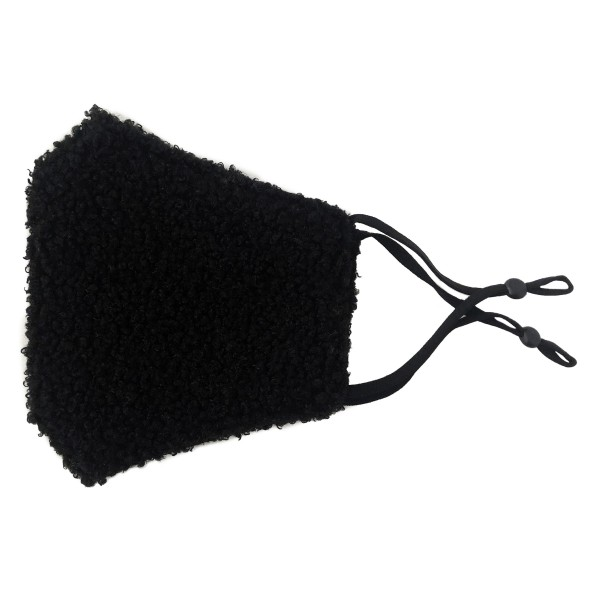 Do everything in Love Brand Adjustable Faux Sherpa Face Mask with Filter Pocket.  - Adjustable Ear Loops - Washable & Reusable - Non-Medical - Filter Insert - Filter Sold Separately*** - Blocks against Sunlight / Dust / Etc - Wash After Each Use - One size fits most Adults  *** ALL Sales Final Due to CDC Recommendations