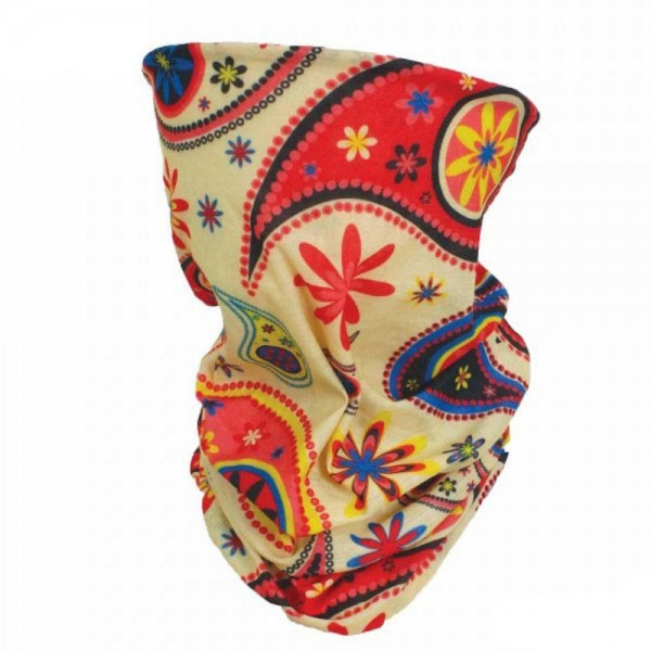 Multicolor Floral Paisley Seamless Tubular Bandana Face Mask.  - Seamless - Tubular Style - Easy Pull Up & Down - Washable & Reusable - Lightweight & Breathable - Helps Protect agains Dust, Wind, Sunlight Etc. - Covers Neck - Multifunctional Wear - These Mask Are Non-Medical - No Filter - One size fits most - 100% Polyester Microfibre  *** ALL Sales Final Due to CDC Recommendations