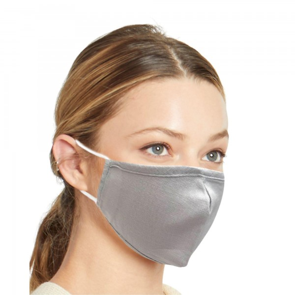 Do everything in Love Brand Solid Lightweight Adjustable Face Mask.  - Lightweight Breathable Material - Non-Medical - Filter Pocket - Filter NOT Included - Adjustable Ear Loops - Helps Protect Against Particles - Cotton & Elastic  *ALL SALES FINAL DUE TO CDC RECOMMENDATIONS