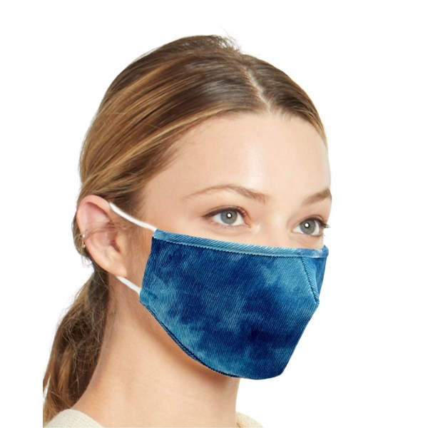 Do everything in Love Brand Adjustable Lightweight Tie Dye Face Mask.  - Lightweight Breathable Material  - Non-Medical  - Filter Pocket - Filter Not Included - Adjustable Ear Loops - Helps Protect Against Particles - Cotton & Elastic