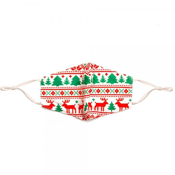 Kids Adjustable Scandinavian Print Mask with Filter Insert.  - Adjustable Ear Loops - Washable & Reusable - Non-Medical - Filter Insert - Filter Sold Separately*** - Blocks against Sunlight / Dust / Etc - Wash After Each Use - One size fits most Kids  *** ALL Sales Final Due to CDC Recommendations