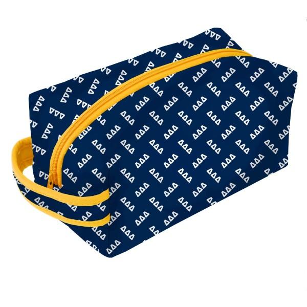 Wholesale neoprene Zipper Bag Delta Delta Delta zipper bag includes convenient c
