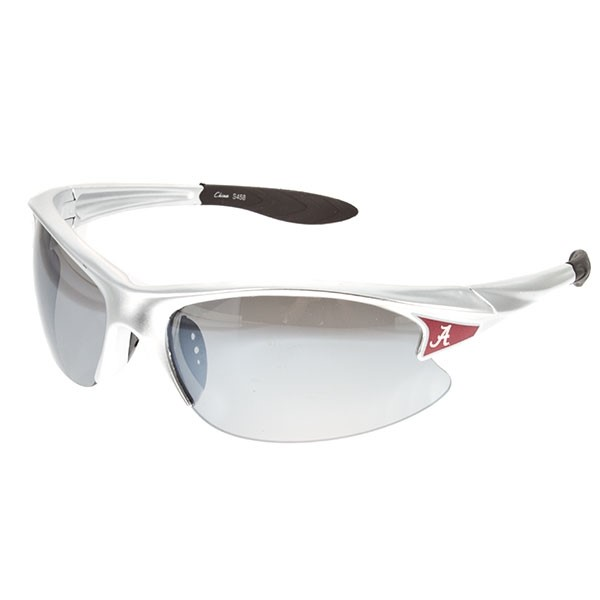 Wholesale officially licensed silver rimless Alabama sunglasses