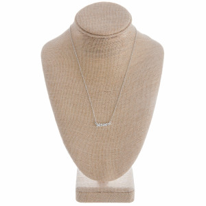 """Gorgeous long metal """"Sister"""" Necklaces. Perfect for everyday wear. Approximate 16"""" in length with 1"""" pendant."""