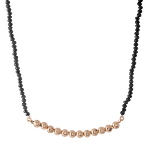 """CCB Bar Beaded Necklace.  - Approximately 16"""" L  - 3"""" Adjustable Extender"""