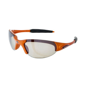 Orange Frame Sunglasses With Officially Licensed Auburn Logo.
