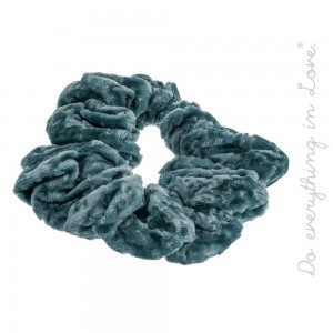 Do everything in Love Brand Velvet Hair Scrunchie.  - One size - 80% Polyester, 20% Nylon