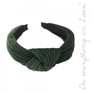Do everything in Love Brand Velvet Knotted Headband.  - One size fits most  - 100% Polyester