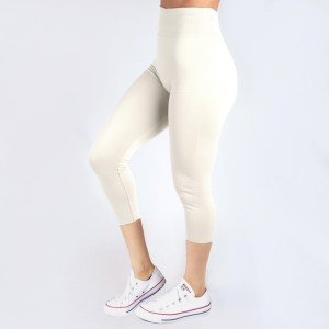 These New Mix summer-weight capris are seamless, chic, and a must-have for every wardrobe. These lightweight, interchangeable styles are versatile, perfect for layering, and available in many shades. Smooth fabric, 92% Nylon 8% Spandex. One size fits most, fits US women's 0-14.