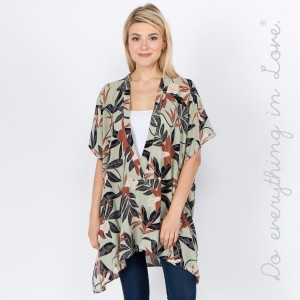 """Do everything in Love brand women's lightweight floral v-neck pull over top.  - One size fits most 0-22 - Approximately 32"""" L  - 100% Viscose"""