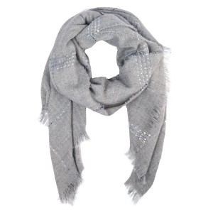 "Do everything in Love Cozy Knit Confetti Scarf.  - Approximately 30"" W x 70"" L  - 80% Acrylic / 20% Polyester"