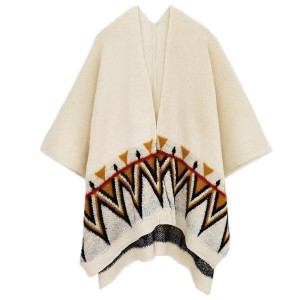 """Do everything in Love Brand Aztec Print Knit Kimono.  - One size fits most 0-14 - Approximately 31"""" Long - 100% Acrylic"""