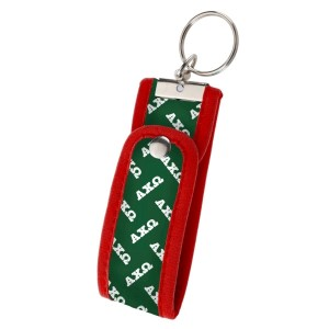 Neoprene Wristlet Key Fob-Alpha Chi Omega. Keep your keys handy and your hands free with our popular Wristlet Key Fob! Fits most wrists and now has a convenient snap closure.