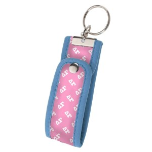 Neoprene Wristlet Key Fob-Delta Gamma.  Keep your keys handy and your hands free with our popular Wristlet Key Fob! Fits most wrists and now has a convenient snap closure.