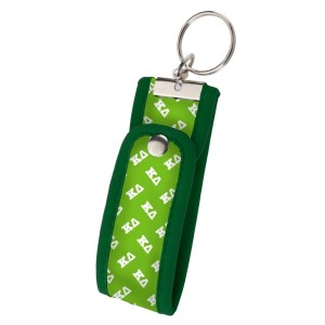 Neoprene Wristlet Key Fob-Kappa Delta.  Keep your keys handy and your hands free with our popular Wristlet Key Fob! Fits most wrists and now has a convenient snap closure.