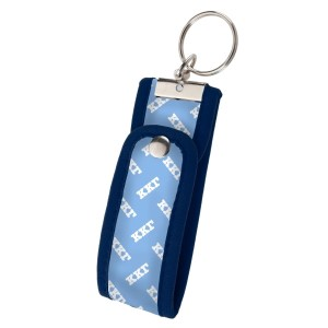 Neoprene Wristlet Key Fob-Kappa Kappa Gamma.  Keep your keys handy and your hands free with our popular Wristlet Key Fob! Fits most wrists and now has a convenient snap closure.