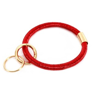 """Ponytail Like Key Ring.  - Hold Keys while wearing on wrist or bag - Approximately 3.5"""" in diameter"""