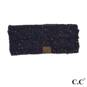 C.C HW-33 Confetti knit headwrap  - 100% Acrylic - One size fits most