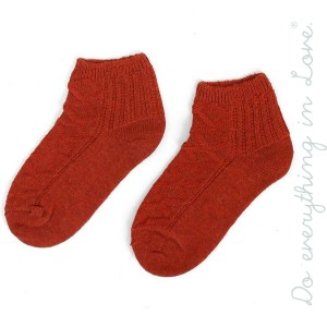 Do everything in Love Brand Knit Ankle Socks.  - One size fits most women's 6-9 - 35% Wool, 65% Acrylic
