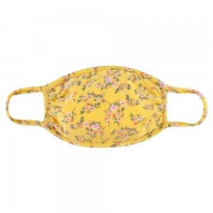 KIDS Reusable Floral Print T-Shirt Cloth Face Mask.   - Machine Wash in Cold - Mild Detergent - Lay Flat to Dry - Do Not Bleach - Reusable Face Mask - These Mask have NO Filter - One Size Fits Most KIDS (Ages 5-11)  - Exterior Material: 95% Polyester / 5% Spandex - Interior Material: Cotton Blend in Ivory or White  These Masks Are Not For Professional Use and Not Medically Rated. These Masks Have No Proven Effectiveness Against Any Viruses.
