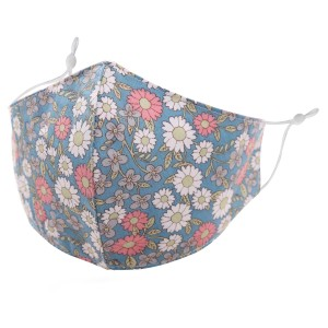 Non-Medical Floral Print Washable & Reusable Fashion Face Mask with Adjustable Ear Loop.  - Wash Before Use - Reusable / Washable / Latex Free - Eco-Friendly - Protects from Dust / Fog / Spray / Pollen - One size fits most Adults - Cotton & Elastic  *** ALL Sales Final Due to CDC Recommendations