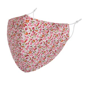 Non-Medical Tiny Floral Print Fashion Face Mask with Seam & Adjustable Ear Loops.   - Wash Before Use - Reusable / Washable / Latex Free - Eco-Friendly - Protects from Dust / Fog / Spray / Pollen - Double Layered Fabric - Adjustable Ear Loops - One size fits most Adults - Cotton & Elastic   *** ALL Sales Final Due to CDC Recommendations
