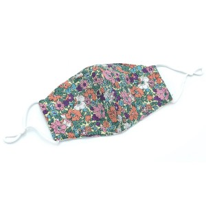Do everything in Love Brand Adjustable Floral Print Fashion Mask with Filter Insert.  - Adjustable Ear Loops - Washable & Reusable  - Non-Medical - Filter Insert - Filter Sold Separately*** - Blocks against Sunlight / Dust / Etc - Wash After Each Use  - One size fits most Adults