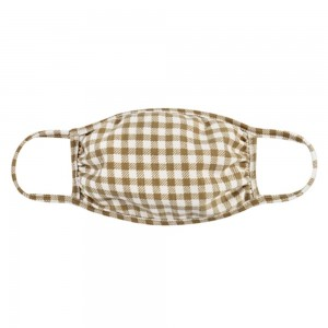 Adults Reusable Checkered Print T-Shirt Cloth Face Mask.  - Machine Wash in Cold - Mild Detergent - Lay Flat to Dry - Do Not Bleach - Reusable Face Mask - These Mask have NO Filter - One Size Fits Most Adults - Exterior Material: 95% Polyester / 5% Spandex - Interior Material: Cotton Blend in Ivory or White  ** These Masks Are Not For Professional Use and Not Medically Rated. These Masks Have No Proven Effectiveness Against Any Viruses. *** ALL Sales Final Due to CDC Recommendations