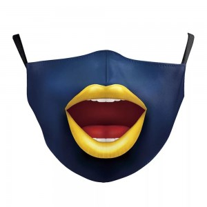 Non-Medical Mouth Face Fashion Face Mask Featuring Adjustable Ear Loops & Filter Insert.  - Wash Before Use - Reusable / Washable / Latex Free - Eco-Friendly - Filter Insert (Filter Not Included) - Protects from Dust / Fog / Spray / Pollen - Adjustable Ear Loop - One size fits most Adults - Cotton & Elastic  ** Filter sold separately *** ALL Sales Final Due to CDC Recommendations