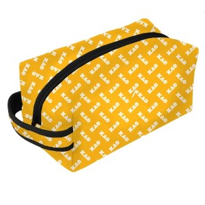 Neoprene Zipper Bag-Kappa Alpha Theta. This zipper bag includes a convenient carrying handle and may be used for cosmetics, brushes or any personal items. Machine washable.