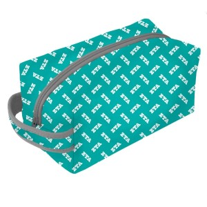 Neoprene Zipper Bag-Zeta Tau Alpha. This zipper bag includes a convenient carrying handle and may be used for cosmetics, brushes or any personal items. Machine washable.