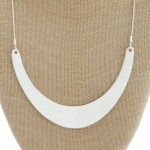 Wholesale modern metal bib statement necklace withy extender
