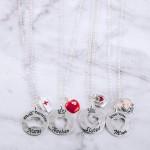 Wholesale most Nurse engraved cut out pendant necklace Kindness Comfort Compass