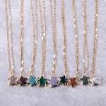 Wholesale semi precious star pendant necklace Pendant extender