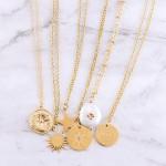 Wholesale gold star pendant necklace Pendant L extender
