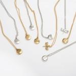 Wholesale cross Coin Pendant Necklace Pendant mm Adjustable Extender