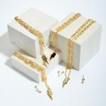 Wholesale chain Link Layered Druzy Lightning Bolt Necklace Adjustable Extender