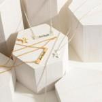 Wholesale set Three Chain Necklaces Star Details Pendant Says Shine Bright Neckl