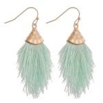 Wholesale fringe tassel dangle earrings