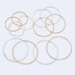 Wholesale genuine Brass Hollow Hoop Earrings Diameter