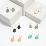 Wholesale short Semi Precious Drop Earrings