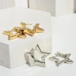 Wholesale star Hoop Earrings Diameter