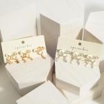 Wholesale set Three Hoop Earrings Celestial Charms cm Diameter
