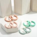 Wholesale polymer Clay Hoop Earrings