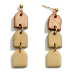 Wholesale ombre Polymer Clay Drop Earrings