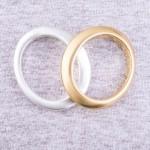 Wholesale gold Satin statement bangle bracelet diameter Fits up wrist