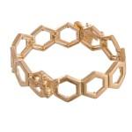 Wholesale honey Bee Stretch Bangle Bracelet diameter Fits up wrist