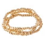 Wholesale metal Star Stretch Bracelet Set pcs set diameter Fits up wrist