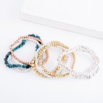 Wholesale two Star Stretch Bracelet Set pcs set diameter Fits up wrist